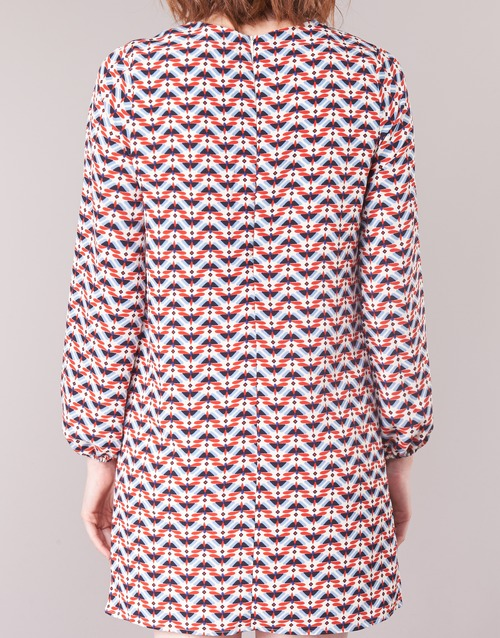 TRUDY  Pepe jeans  robes courtes  femme  bleu / blanc / rouge