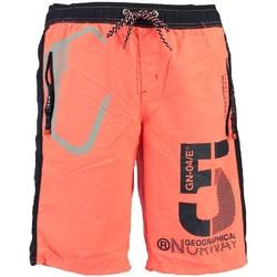 Vêtements Garçon Shorts / Bermudas Geographical Norway Maillot de Bain Enfant Qraviara Orange