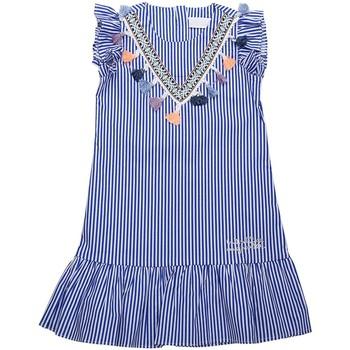 Vêtements Fille Robes courtes Interdit De Me Gronder Robe sans manches CYGANA Bleu