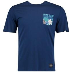 Vêtements Homme T-shirts manches courtes O'neill T-Shirt  Lm Pocket Filler - Atlantic Blue Bleu