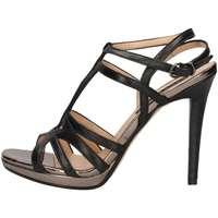 Chaussures Femme Sandales et Nu-pieds Silvana 342 Sandales Femme Noir Noir