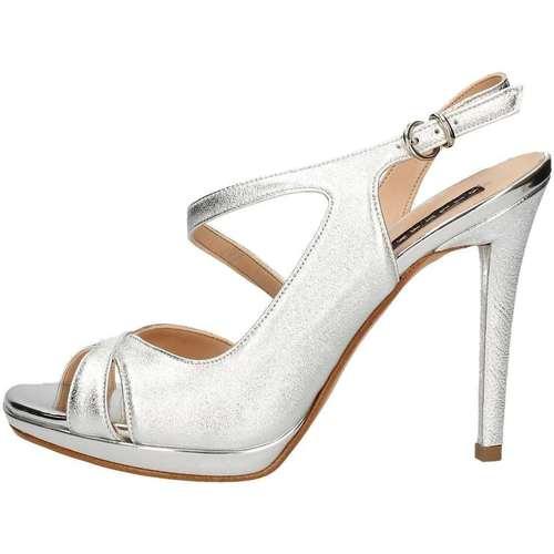 Chaussures Femme Sandales et Nu-pieds Silvana 954 Argent