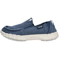 Chaussures Enfant Slips on Hey Dude FARTY WASHED J Slip On Enfant Bleu Bleu