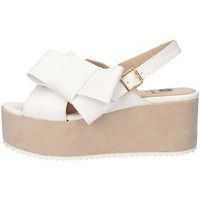 Chaussures Femme Sandales et Nu-pieds Luni Made In Italy F402ACC/ELEF.BIANCO Sandales Femme Blanc Blanc