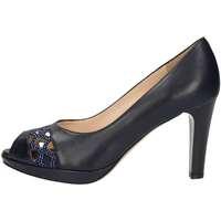 Chaussures Femme Escarpins Musella C18335 Chaussures à Talon Femme Bleu Bleu