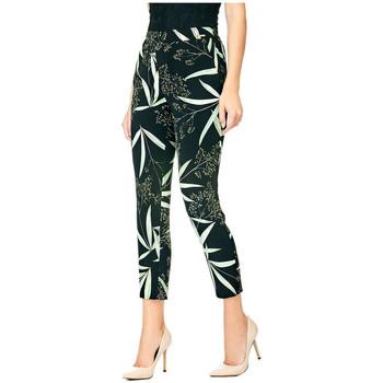 Vêtements Femme Chinos / Carrots Guess Pantalon Femme Eleanor Noir W82B10 38