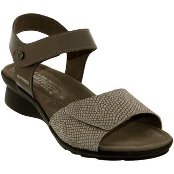 Chaussures Femme Sandales et Nu-pieds Mephisto Pattie Taupe cuir