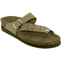 Chaussures Femme Tongs Mephisto HELEN PERF Taupe nubuck