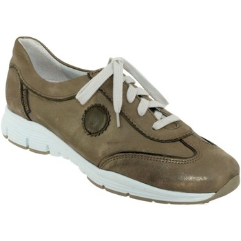 Chaussures Femme Baskets basses Mephisto YAEL Taupe cuir