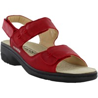 Chaussures Femme Sandales et Nu-pieds Mobils By Mephisto GETHA Rouge cuir