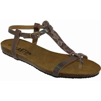 Chaussures Femme Sandales et Nu-pieds Plakton Mam zouk Rose satiné