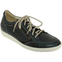 Chaussures Homme Baskets basses Mephisto UGGO Marine cuir