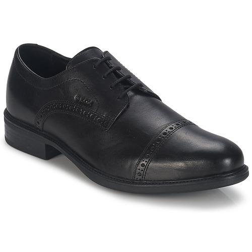 Chaussures Homme Derbies Geox CARNABY B Noir