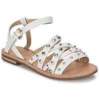 Chaussures Femme Sandales et Nu-pieds Geox JOLANDA E Blanc