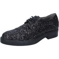 Chaussures Femme Derbies & Richelieu Janet&Janet élégantes noir glitter BY753 noir