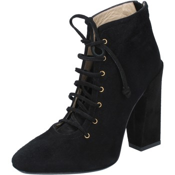 Chaussures Femme Bottines Gianni Marra MARRA bottines noir daim BY757 noir