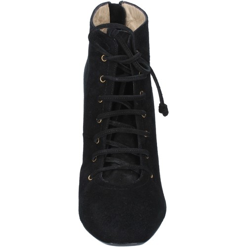 bottines noir daim BY757 Gianni Marra bottines femme noir