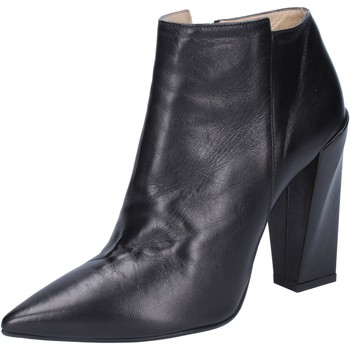 Chaussures Femme Bottines Gianni Marra MARRA bottines noir cuir BY760 noir