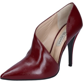Chaussures Femme Bottines Gianni Marra MARRA bottines bordeaux cuir verni BY792 rouge