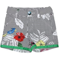 Vêtements Fille Shorts / Bermudas Interdit De Me Gronder Short MISTRAL Multicolore
