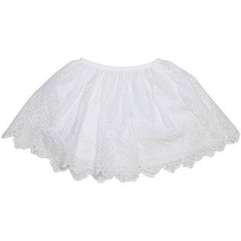 Vêtements Fille Jupes Interdit De Me Gronder Voile Blanc