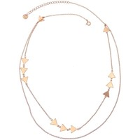 Montres & Bijoux Femme Colliers / Sautoirs Pya Collier multi motifs 2 rangs collection EQUI Or