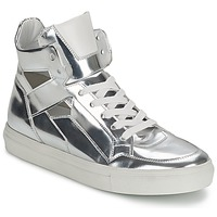 Chaussures Femme Baskets montantes Kennel + Schmenger TONIA Argent