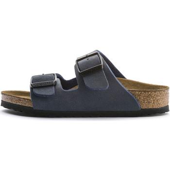 Chaussures Garçon Mules Birkenstock Sandale  Arizona Enfant - Ref. BK552903 Bleu