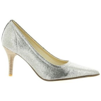 Chaussures Femme Escarpins Elizabeth Stuart Escarpins cuir laminé Argent