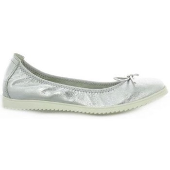 Chaussures Femme Ballerines / babies Latina Ballerines cuir laminé Argent