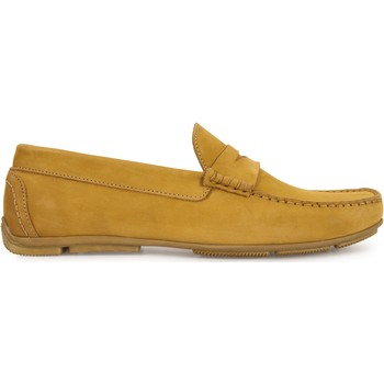 Chaussures Homme Mocassins Heyraud Driver GREGORY Jaune