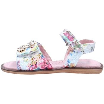 Chaussures Fille Sandales et Nu-pieds Lelli Kelly 5514 Sandales Fille White / Multicolor White / Multicolor