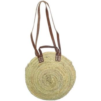 Sacs Femme Cabas / Sacs shopping Le Voyage En Panier Panier  ref_trop43644 Naturel 37*37*10 beige