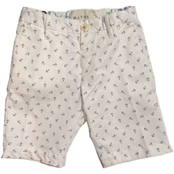 Vêtements Enfant Shorts / Bermudas Myths Junior 18K51B15 bermudes Enfant blanc blanc