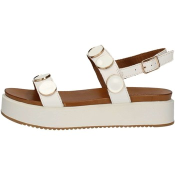 Chaussures Femme Sandales et Nu-pieds Inuovo 8715 Sandales Femme Blanc Blanc