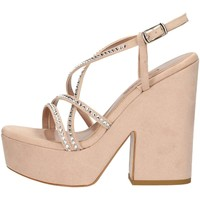 Chaussures Femme Sandales et Nu-pieds Albano 3748 Sandales Femme NUDE NUDE