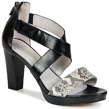 Sandale Perlato IREGUA Noir / Python 350x350