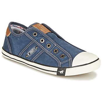 Chaussures Femme Baskets basses Mustang NAJERILLA Jeans