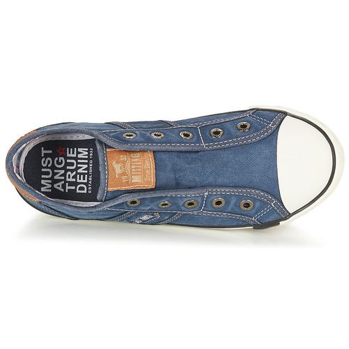 Chaussures Jeans Najerilla Baskets Mustang Femme Basses jGSUqVLzpM