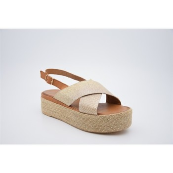 Chaussures Femme Espadrilles Inuovo 8918 Doré