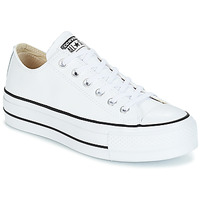 0ba9ac2de1bec Chaussures Femme Baskets basses Converse CHUCK TAYLOR ALL STAR LIFT CLEAN  OX Blanc
