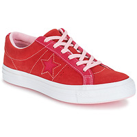 Chaussures Femme Baskets basses Converse ONE STAR OX Rouge / Rose