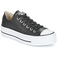 Chaussures Femme Baskets basses Converse CHUCK TAYLOR ALL STAR LIFT CLEAN OX Noir / Blanc