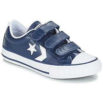 056d004e098c2 Chaussures Enfant Baskets basses Converse STAR PLAYER EV V OX Navy White
