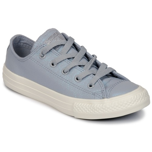 Chaussures Fille Baskets basses Converse CHUCK TAYLOR ALL STAR OX Gris