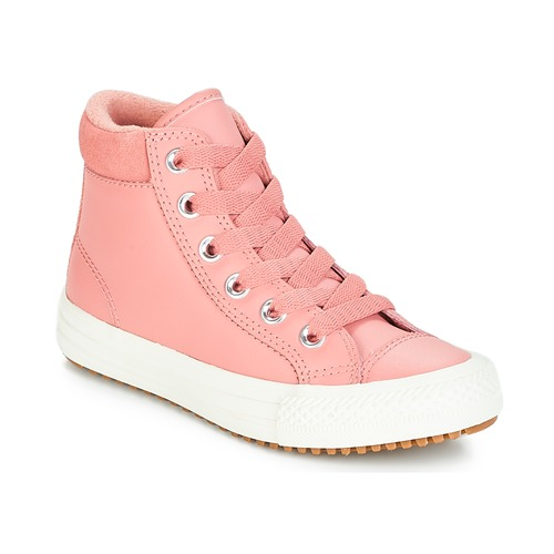4bacc99931caf Chaussures Fille Baskets montantes Converse CHUCK TAYLOR ALL STAR PC BOOT  HI Rust Pink Burnt