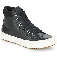 Chaussures Enfant Baskets montantes Converse CHUCK TAYLOR ALL STAR PC BOOT HI Noir / Blanc