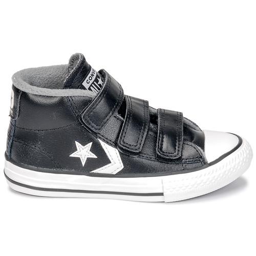 Converse Player Black Chaussures Mid vintage 3v mason Star Enfant Baskets Montantes White vNwm8n0O
