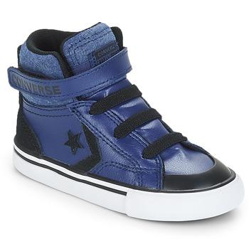 Chaussures Garçon Baskets montantes Converse PRO BLAZE STRAP HI Bleu