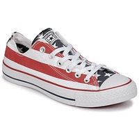 Chaussures Baskets basses Converse CHUCK TAYLOR ALL STAR PRINT OX bleu / rouge / blanc